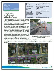 Lynch Ave Fact Sheet