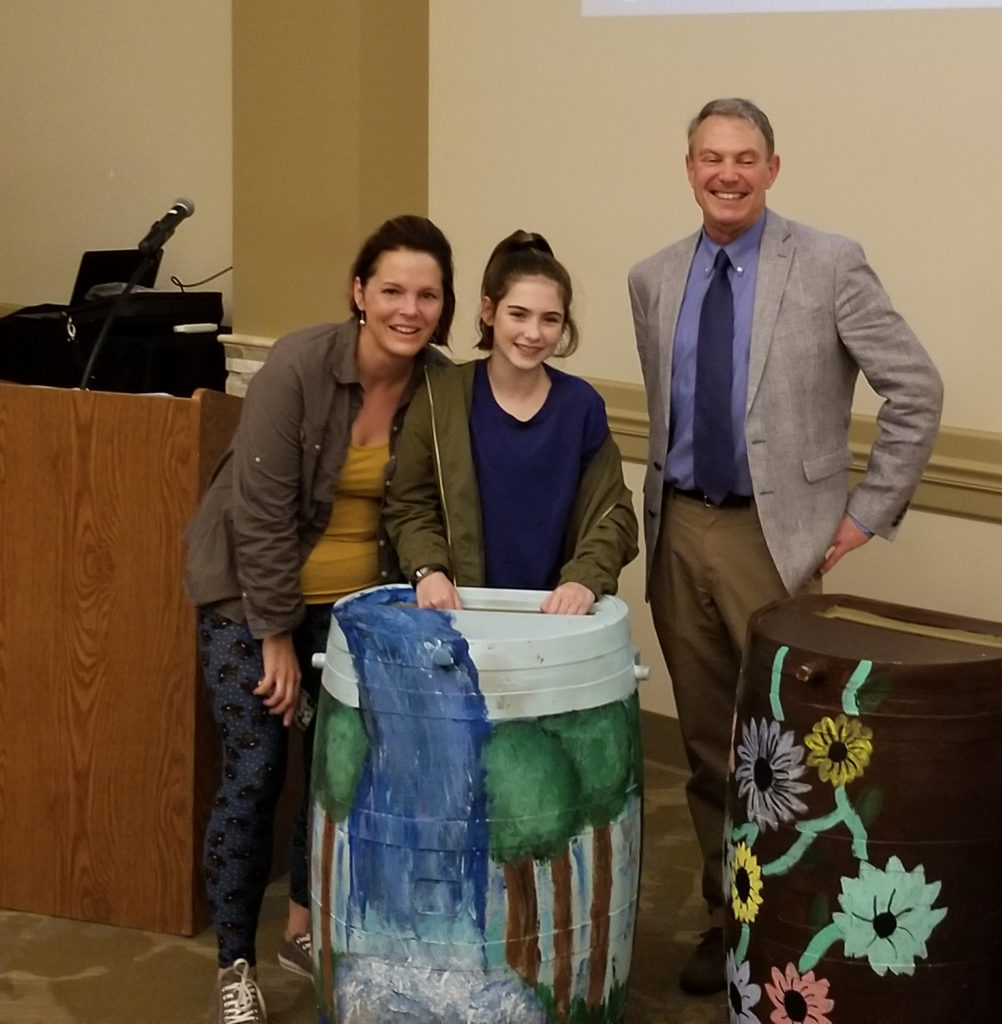 Chestnut Elementary: Rain Barrel Art Contest