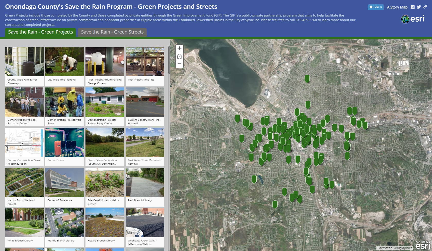Save the Rain Launches Green Infrastructure Map