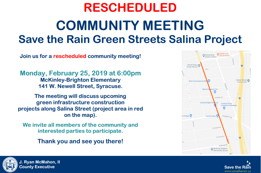 Post image for RESCHEDULED – Salina Green Street Community Meeting